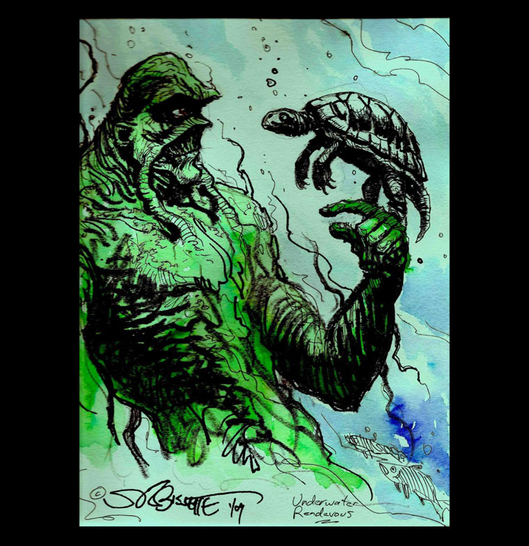 Swamp Thing: Underwater Rendevous
