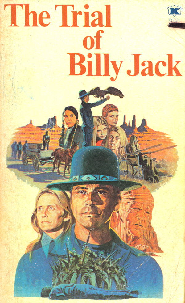 Drive-In Movie Book Sale vs. Billy Jack!