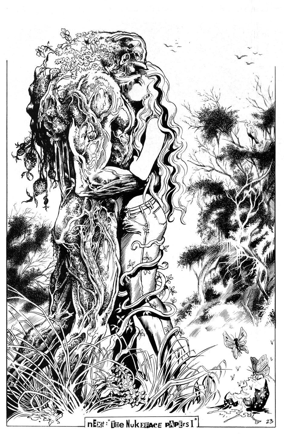 Swamp Thing: Rites Of Spring Alert…
