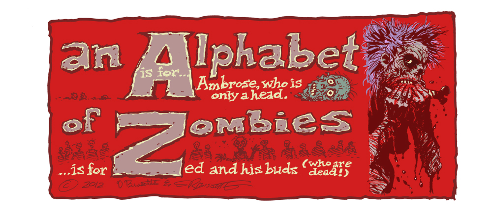 Alphabet of Zombie Print Debuts at October Spooktacular &#038; Comic Boom!