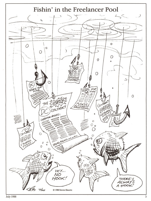 "SpiderBaby Archives: ""Fishin' in the Freelancer Pool"""