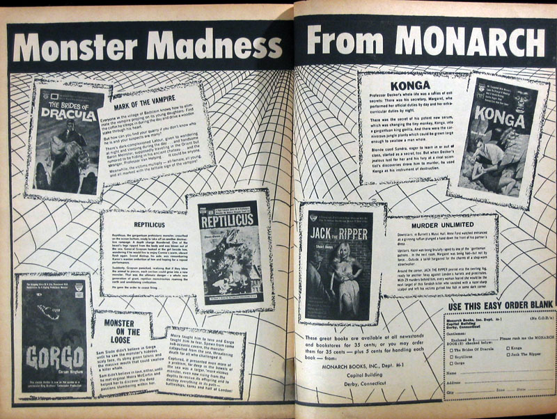 Monarch Books ad