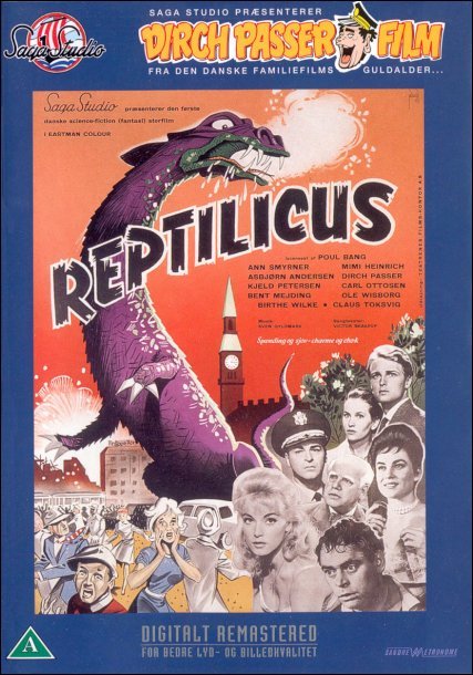Reptilicus DVD