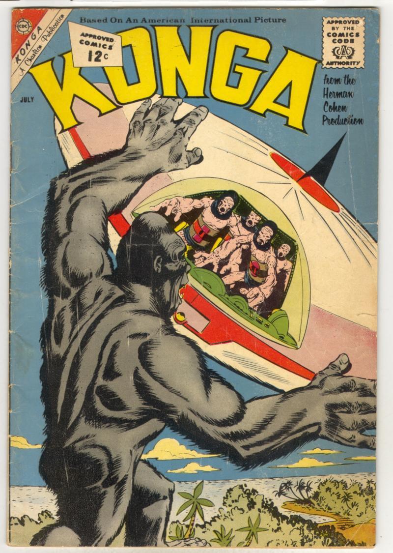 Ditko Konga cover